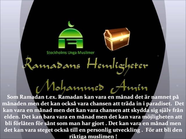Ramadans Hemligheter - Mohammed Amin