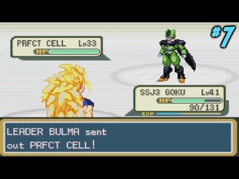 Dragon Ball Z Team Training Walkthrough Part 7 - CELL! (Pokemon DBZ MOD Let's Play)