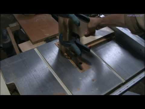 видео: Столярка. Самодельное приспособление-шипорез для циркулярной пилы