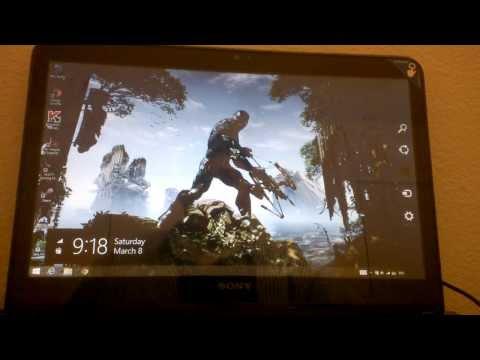 How to Adjust Brightness of Sony Vaio laptops