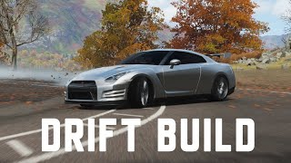 Forza Horizon 4  Nissan GT-R Drift Build Tutorial! How To Upgrade and Tune Your Drift Car!