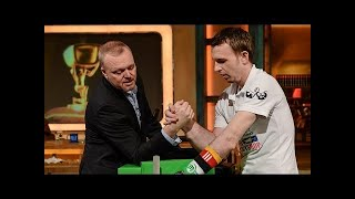 Armwrestling mit dem Hellboy - TV total