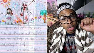 One of dangmattsmith's most viewed videos: CREEPIEST CHILDREN'S DRAWINGS