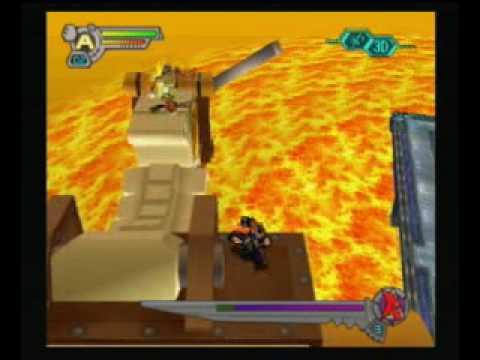 Mega Man X7 - Flame Hyenard (No Damage, Axl Bullet Only)