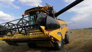 Żniwa 2018 w GR Natkaniec!! New Holland Cx 5.80/ New Holland Tm 190/ Kubota M135GX