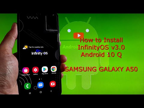 InfinityOS v3.0 OneUI 2.5 for Samsung Galaxy A50 Android 10 Q