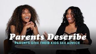 Parents Give Their Kids Sex Advice | Parents Describe | Cut