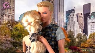 Барби и Кен история в ресторане Мультик для девочек Серия 73