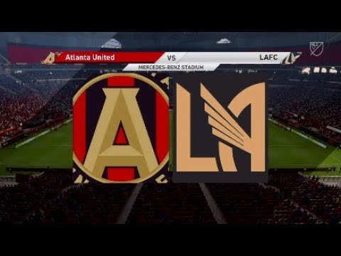 Fifa 19 Manager Career : Atlanta United vs LAFC @MERCEDEZBENZSTADIUM