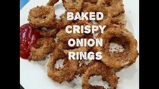 Baked Crispy Onion Rings Recipe