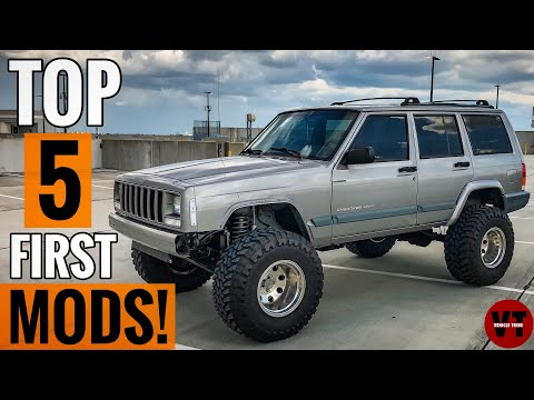 THE BEST 5 FIRST MODIFICATIONS FOR YOUR JEEP!