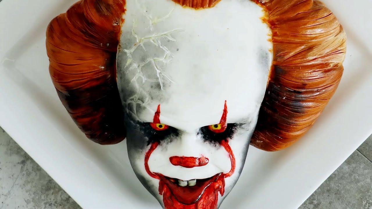 Creepy Clown Halloween Decorations.Halloween Scary Clown Cake 2018 Easy Diy Decorating Ideas