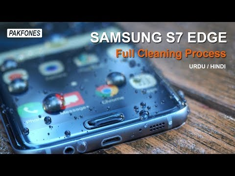Samsung S7 Edge Water Damaged Fix - Cleaning S7 Edge after water proof test full process.