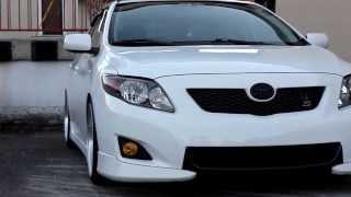 Stanced Toyota Corolla