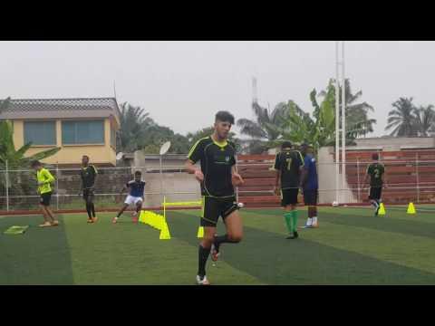 Back to training  Astros football academy  27 ghana