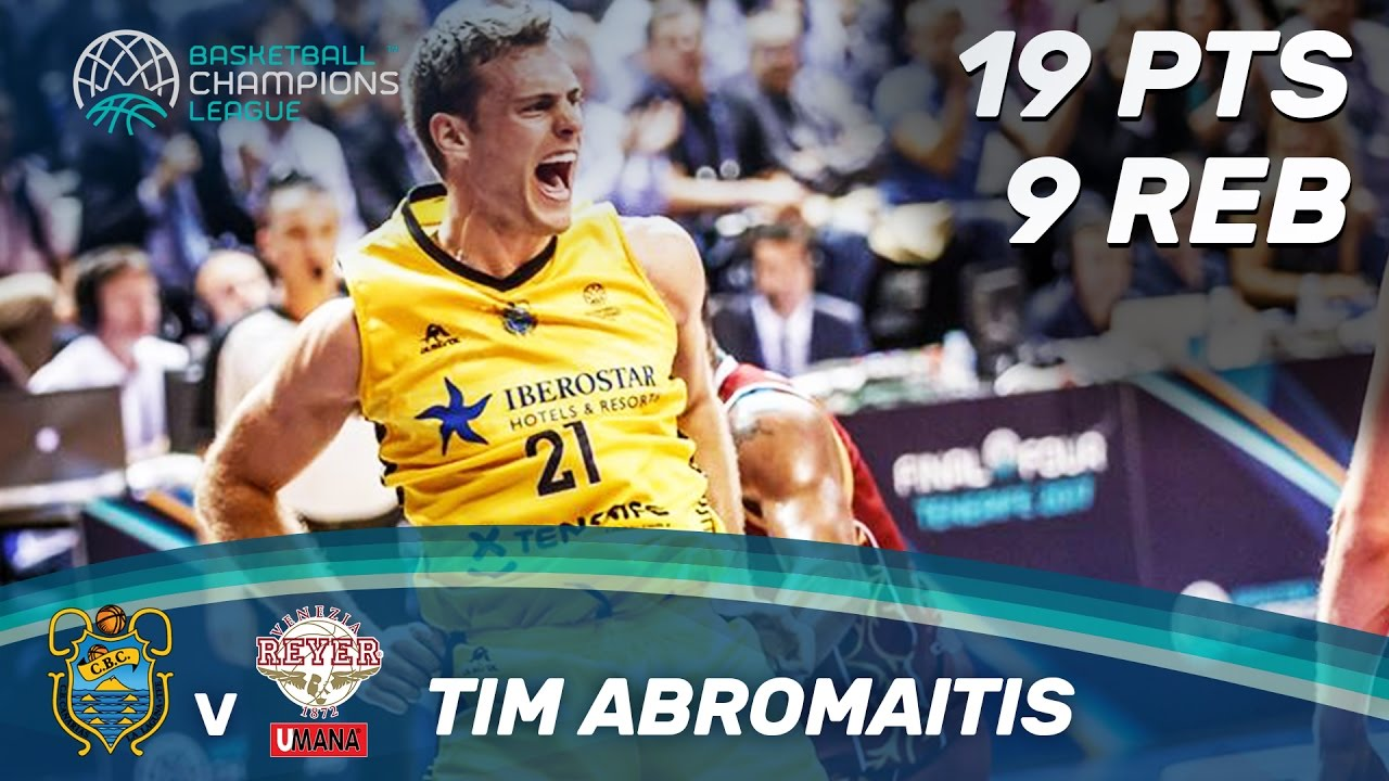 Tim Abromaitis (19pts / 9 reb) was on fire in the semi-finals!