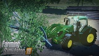 Czyszczenie Terenu Pod Nowe Budynki | Farming Simulator 19