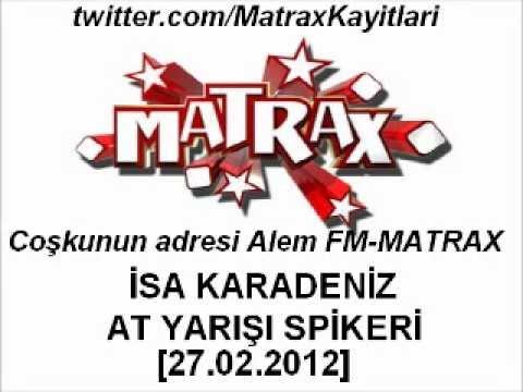Matrax-İsa Karadeniz At Yarışı Anlatımı [27.02.2012]