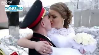 В Бельцах впервые прошла свадьба на территории воинской части 21 02 18
