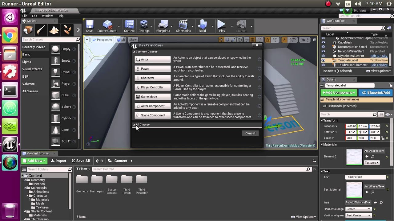 Ue4 linux blueprint creation dialog error youtube ue4 linux blueprint creation dialog error malvernweather Image collections