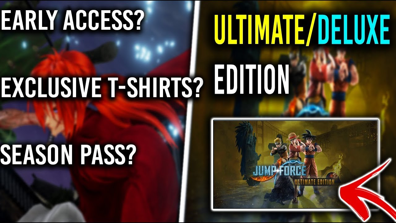 JUMP FORCE - DELUXE/ULTIMATE EDITION Breakdown + Special