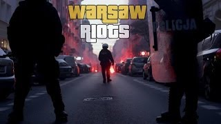 INDEPENDENCE DAY RIOTS///WARSAW///POLAND////11.11.2013
