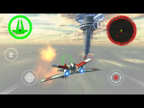 Alpha Squadron - Android 3D Action Flight Combat Game