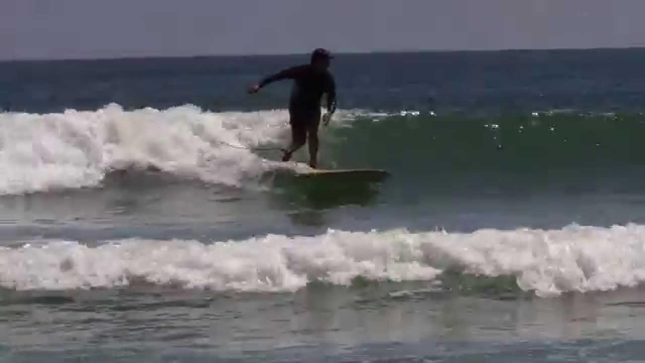 Surfing At New Smyrna Beach Florida