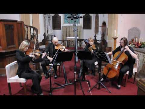 Romeo and Juliet : Kissing You by Desree. Capriccio Quartet arr Helen Marple-Horvat
