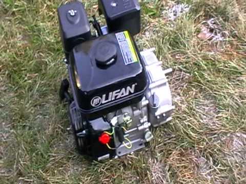 пробный пуск двигателя лифан 170