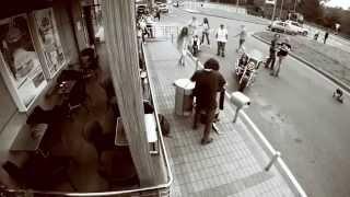 Музыкальный перформанс на АЗС «Роснефть»