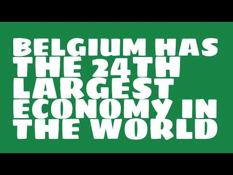 How big is the economy of Belgium?