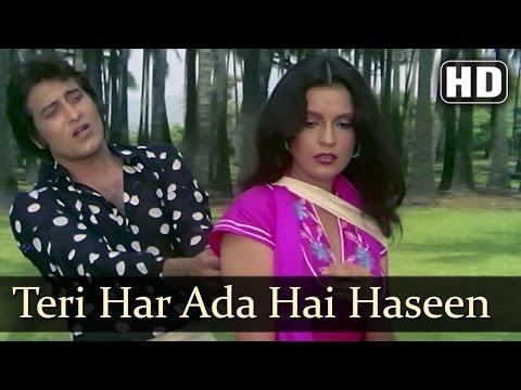 Teri Har Ada Hai Haseen - Vinod Khanna - Zeenat Aman - Daulat - Bollywood Songs - R.D. Burman
