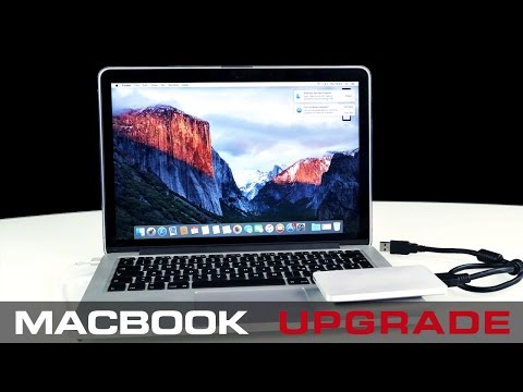 How to upgrade your Macbook Pro to maximum Storage - 2017