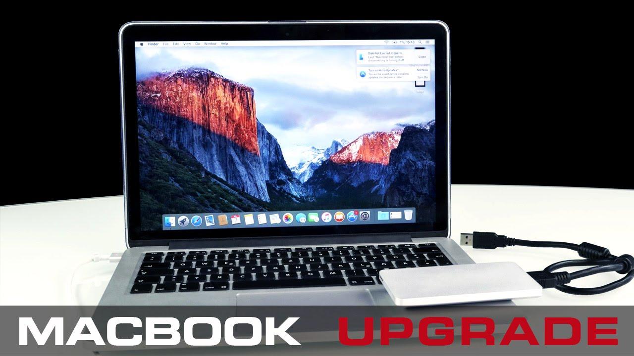 How To Upgrade Your Macbook Pro To Maximum Storage   2017