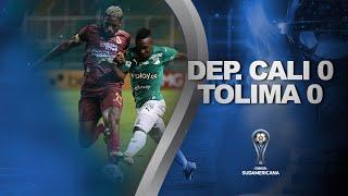 Deportivo Cali vs. Deportes Tolima [0-0]   RESUMEN   Primera Fase   VUELTA   CONMEBOL Sudamericana