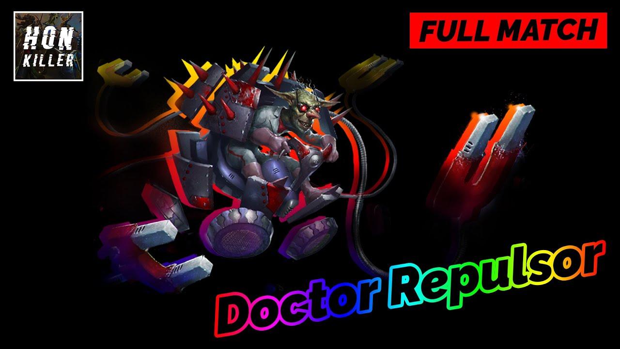 Doctor Repulsor Heroes of Newerth Gameplay   iYOLO   Immortal
