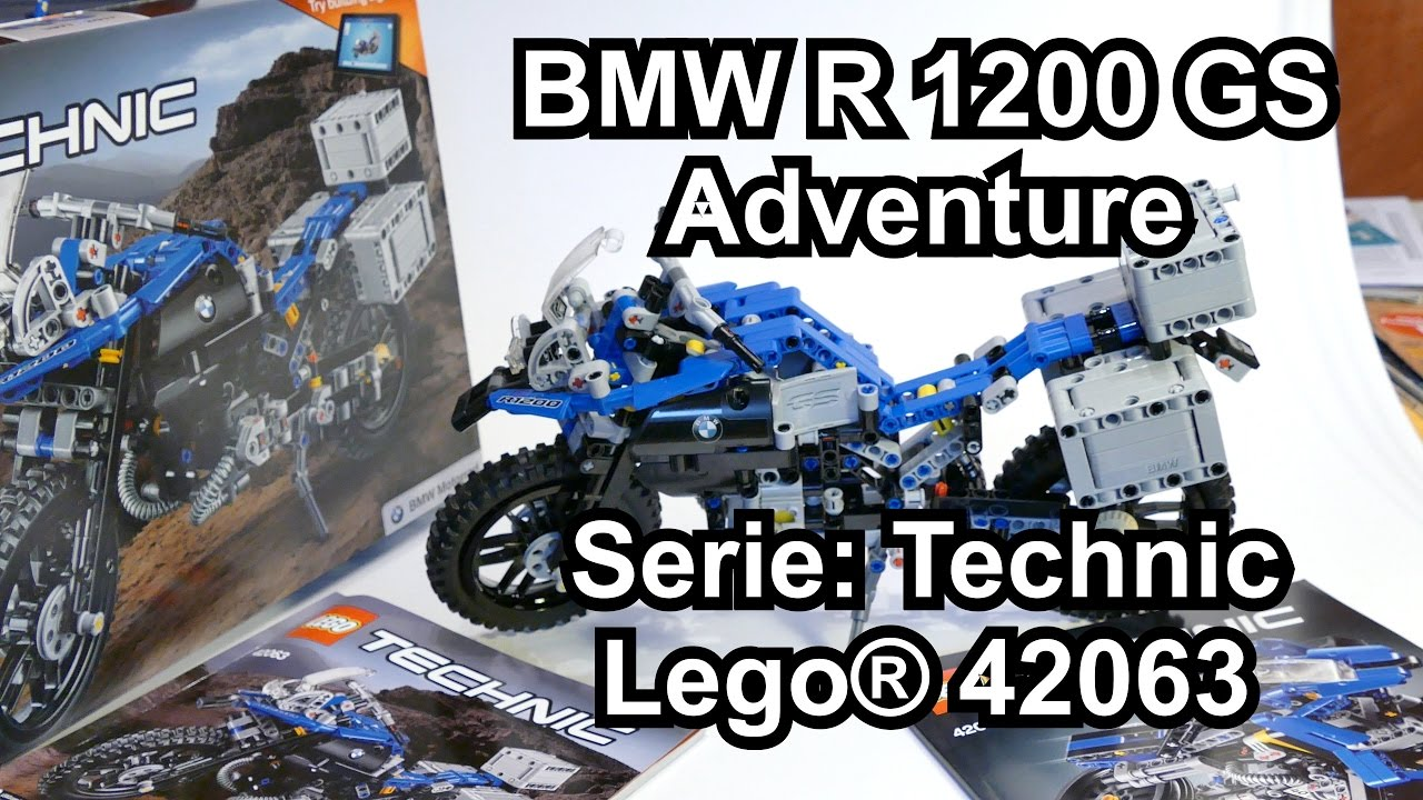 review lego bmw r 1200 gs adventure motorrad set 42063. Black Bedroom Furniture Sets. Home Design Ideas