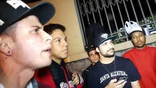 TVS e Paskin VS Durap e Menezes BATALHA DO SANTA CRUZ 02 09 2017
