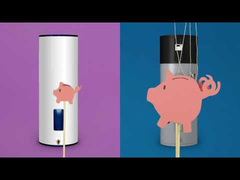 Save Energy with a Heat Pump Water Heater