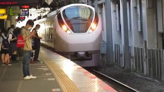 常磐線E657系特急ひたち19号仙台行柏駅高速通過!