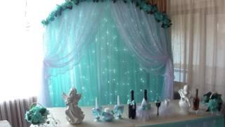 мятная свадьба в кафе