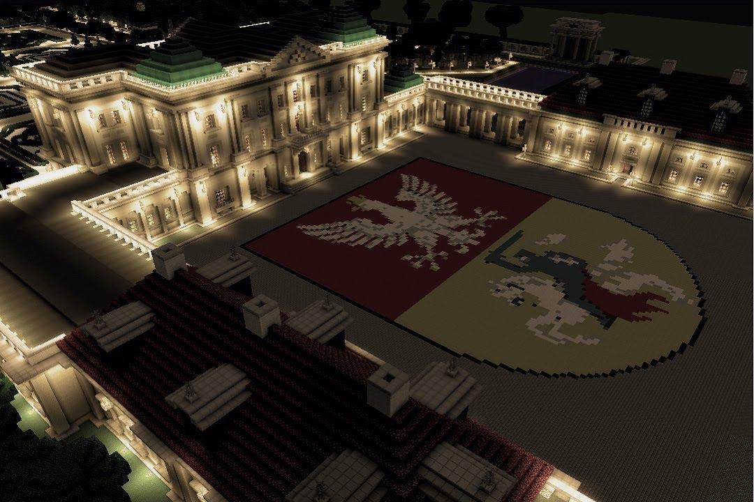 Minecraft Pałac Branickich W Białymstoku Youtube