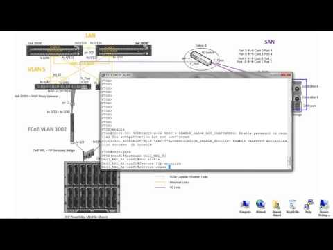 Humair's Blogs » Blog Archive » FCoE with Dell S5000