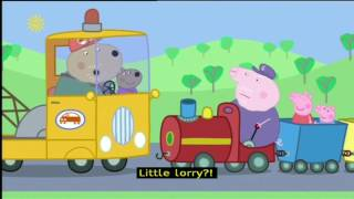 Peppa Pig (Series 2) - Grandpa's Little Train (with subtitles)