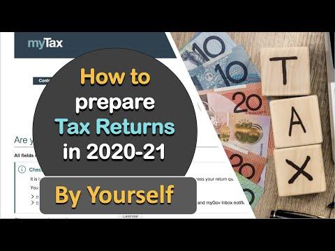 How To Prepare Tax Return Australia 2020 Explained