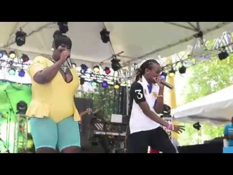 Lady Essence and Mole - Ish & Glide- Soca On The Hill Barbados  2016