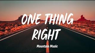 Marshmello Kane Brown One Thing Right Lyrics.mp3