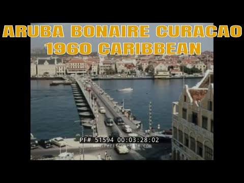 ARUBA  BONAIRE  CURACAO   1960 CARIBBEAN TRAVELOGUE FILM    51594