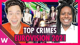 Eurovision 2021: Review of the top crimes and jury-televote wrongs
